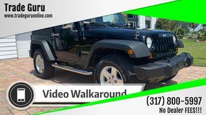 2012 Jeep Wrangler for Sale in Venice, FL