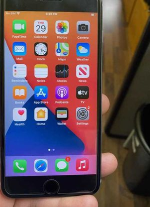 IPHONE 6S PLUS 32GB T-MOBILE AND METROPCS OR AT AND T AND CRICKET 60 for Sale in Garland, TX