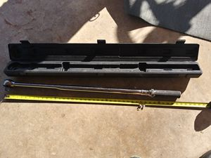 Matco tools 3/4 torque wrench 🔧 100lbs-500lbs. Ft. Used $500 obo for Sale in San Antonio, TX