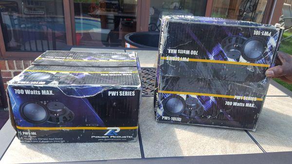 Brand New 700 Watt Sub Woofers