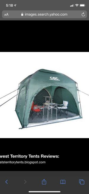 Camping Equipment Company Axis Tent and Shade Structure - CEC for Sale in Orange, CA