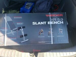 Weider Adjustable Slant Bench New In Hand for Sale in Orlando, FL