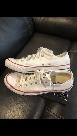 Converse White Unisex Sneakers. Sz 8 Mens Sz 10 Women ($30 Firm) for Sale in Keller, TX