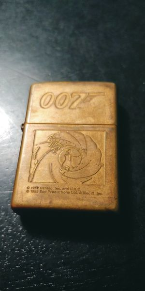 1995 '007 Gold Steal James Bond Zippo Lighter' for Sale in St. Louis, MO
