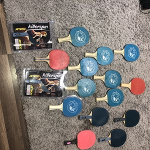 Ping Pong Paddles And Balls for Sale in San Francisco, CA