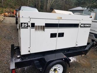 25k whisper watt diesel generator for Sale in Enumclaw,  WA