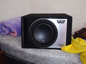 12 inches JL audio W7 subwoofer for Sale in Oakland, CA