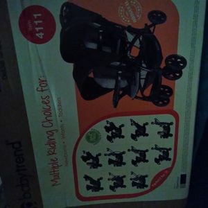 Double Stroller Baby Trend Sit N Stand Brand New In Box Need2 SELL Asap Need The Money For My 7 Kids For Christmas for Sale in Philadelphia, PA