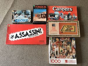 Board games and puzzle for Sale in Virginia Beach, VA