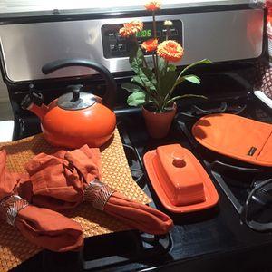 Orange Kitchen Setup for Sale in Anaheim, CA