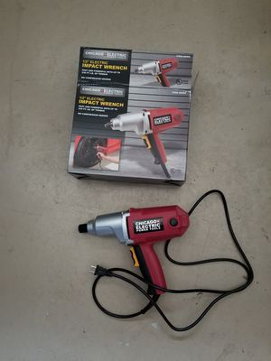 Chicago Electric impact wrench for Sale in Tarpon Springs, FL