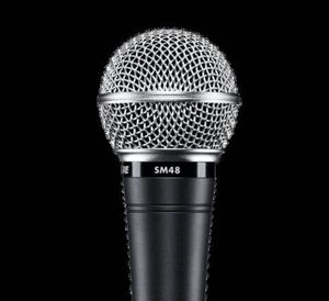 Shure SM 48 microphone for Sale in Los Angeles, CA