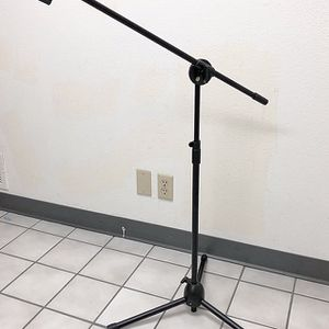(NEW) $15 Microphone Boom Stand Mic Clip Holder Studio Arm Adjustable Foldable Tripod for Sale in South El Monte, CA