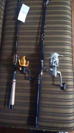 Fishing rods and reals.Package deal, or separate. for Sale in Tacoma, WA