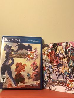 PS4 Video Game Disgaea 5: Alliance Of Vengeance Disc Like New for Sale in Reedley,  CA
