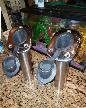 Fishing pole holders For boat. Stainless steel for Sale in Philadelphia, PA