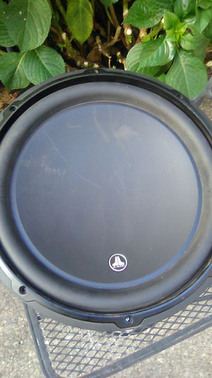 JL audio 12inch sub for Sale in Stockton, CA