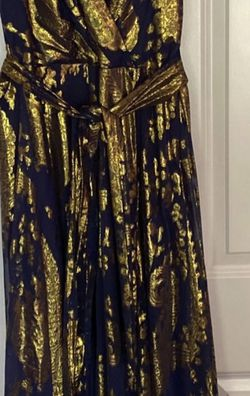 Dark Navy Blue and Gold Women's Dress for Sale in Lakewood, WA
