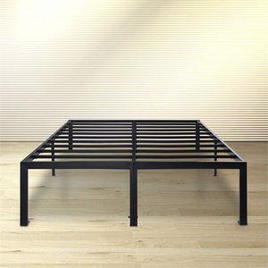 KING SIZE Olee Sleep 18 Inch Tall Heavy Duty Steel Slat Bed Frame for Sale in Hammond, IN