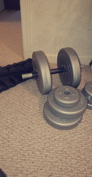 Dumbell weights + ankle weights for Sale in Mayfield, KY