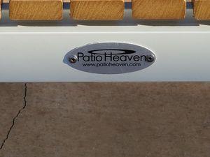 Patio Heaven Riviera Collection: 6 Piece White Set for Sale in Chula Vista, CA