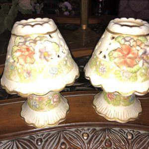 Wang's International Tea light Lamps ( Vintage ) for Sale in Dunedin, FL