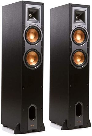 2 Klipsch R-26F Floor Standing Black Speakers!! for Sale in San Diego, CA