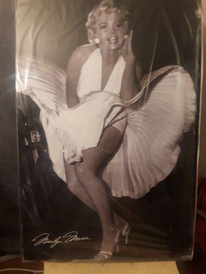 Marilyn Monroe poster for Sale in San Bernardino, CA