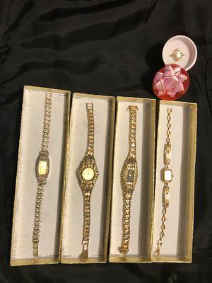 Gold watch relojes de oro sólido, 14k & 10K for Sale in Alexandria, VA
