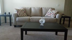 sofa and coffee table set for Sale in Tampa, FL