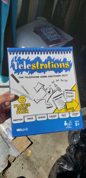 $15 Telestrations family drawing game for Sale in Bell Gardens, CA