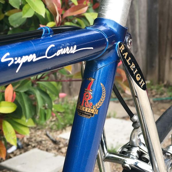 Raleigh Super Course Racing USA Vintage Bicycle Size 56 PRICE DROP! SALE