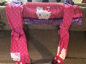 Hello Kitty Curtains and valance for Sale in Phoenix, AZ