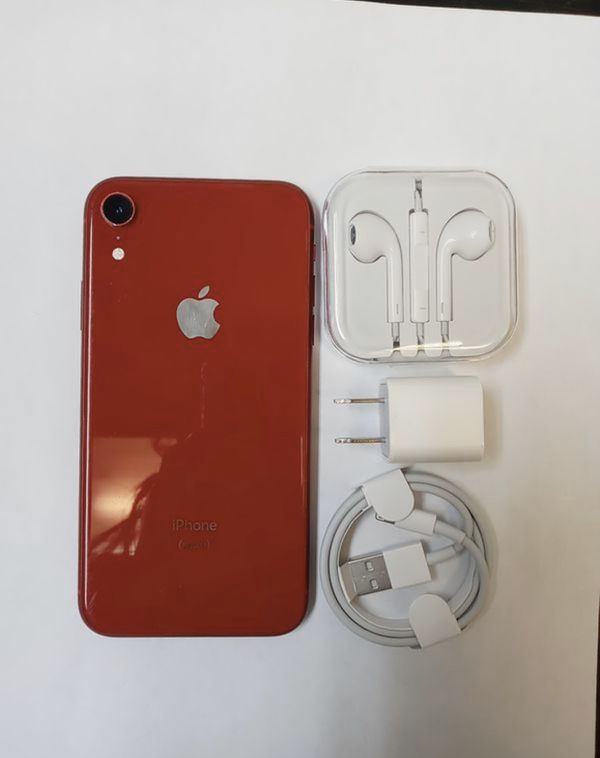 iPhone XR - RED - UNLOCKED