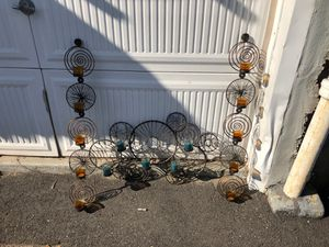 Pier 1 - 3 Decorative Wall pieces/ candle holders for Sale in Queens, NY