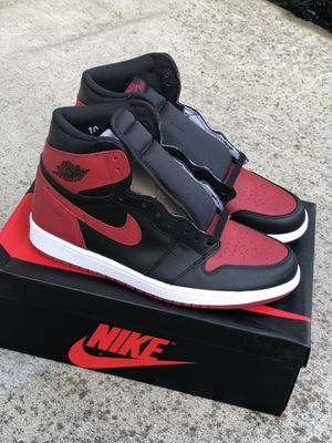 DS Nike Jordan Retro 1 Bred Banned sz 10 for Sale in Columbus, OH