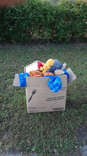 Box of random toys/stuff for Sale in Fort Pierce, FL