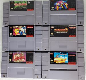 Super Nintendo Games $5 for Sale in Turlock, CA