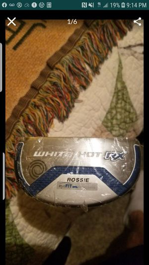 NEW! IN PLASTIC! ODYSSEY WHITE HOT RX ROSSIE GOLF CLUB PUTTER for Sale in Grand Prairie, TX