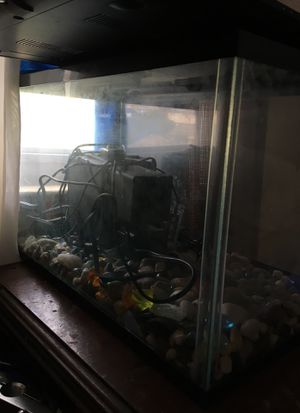Medium size 15-20 gallon fish tank for Sale in Baltimore, MD