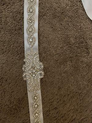 BRAND NEW BRIDAL SASH BELT for Sale in Menifee, CA