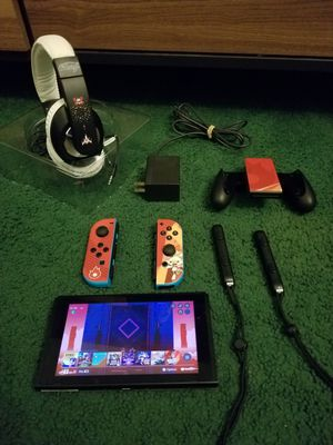 Nintendo Switch fully loaded ultimate bundle for Sale in Santa Ana, CA