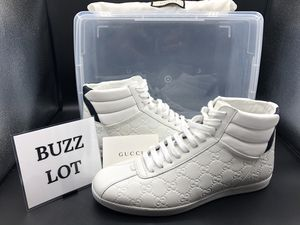 Gucci High Top Leather Sneakers for Sale in Bayonne, NJ