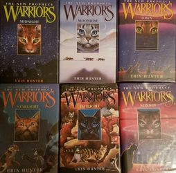 Warriors: New Prophecy (Hardback - Complete Series) for Sale in Vancouver,  WA
