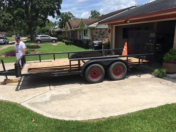 16 ft utility trailer NEED GONE ASAP