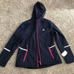 Brand New Reebok Navy Outerwear Jacket M for Sale in Camano,  WA