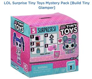 20 LOL SURPRISE TINY TOYS (Collect to build a Tiny Glamper) QUICK SIPPING for Sale in Carol Stream, IL