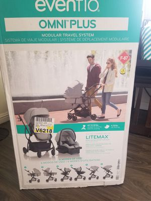 Evenflo omni plus travel system stroller for Sale in Downey, CA