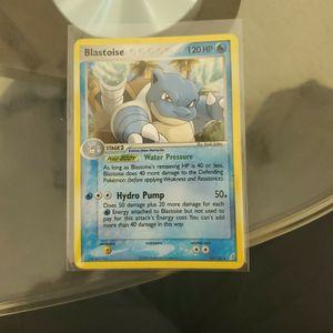Blastoise Holo Pokemon Crystal Guardians. for Sale in Middleburg, FL
