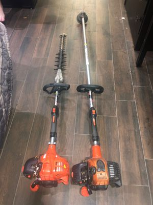 Echo set tree hedger and weed eater for Sale in Houston, TX